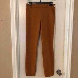 Zara Mustard Skinny Pants